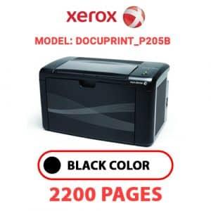 DocuPrint P205b - Xerox Printer