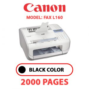 FAX L160 - Canon Printer