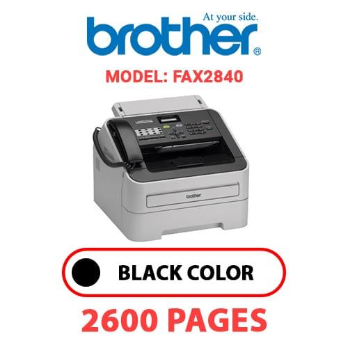 FAX2840 1 - BROTHER FAX2840 - BLACK TONER