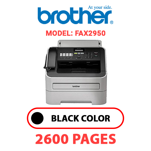 FAX2950 1 - BROTHER FAX2950 - BLACK TONER