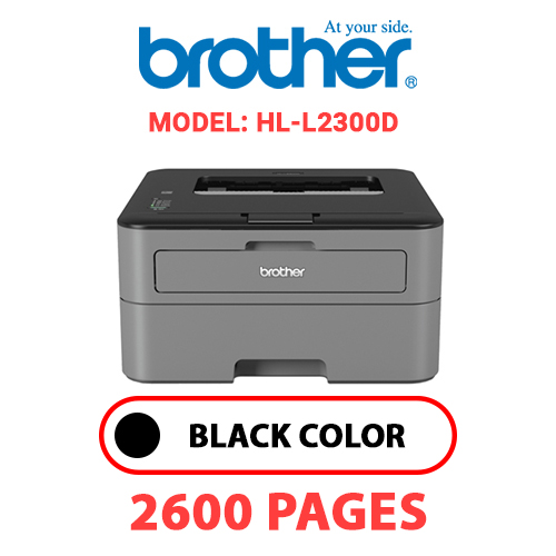 HL L2300D 1 - BROTHER HL-L2300D - BLACK TONER