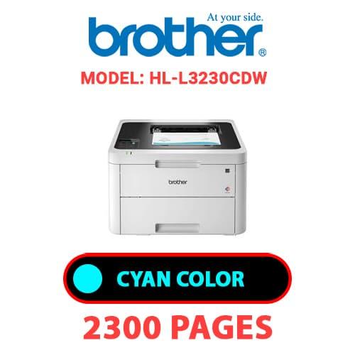 HL L3230CDW 1 - BROTHER HL-L3230CDW - CYAN TONER