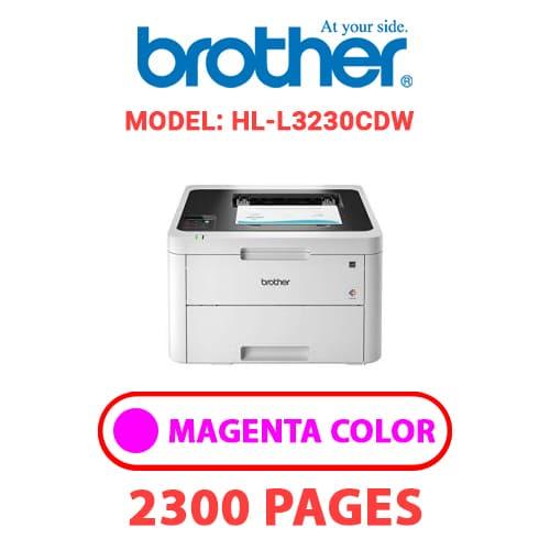 HL L3230CDW 2 - BROTHER HL-L3230CDW - MAGENTA TONER
