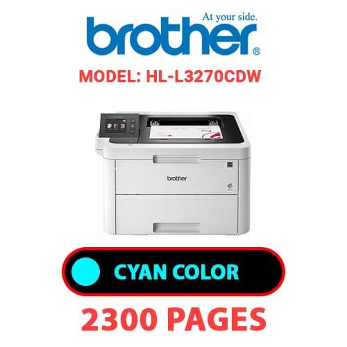 HL L3270CDW 1 - BROTHER HL-L3270CDW - CYAN TONER
