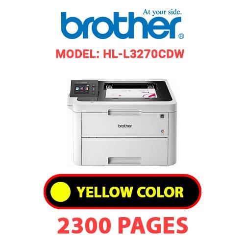 HL L3270CDW 3 - BROTHER HL-L3270CDW - YELLOW TONER