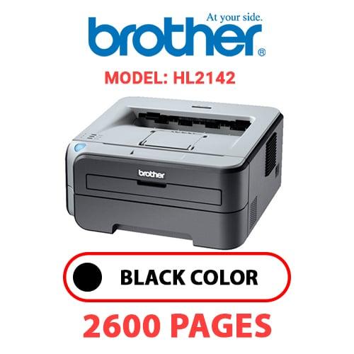 HL2142 - BROTHER HL2142 - BLACK TONER