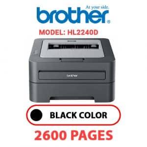 HL2240D 1 - Brother Printer