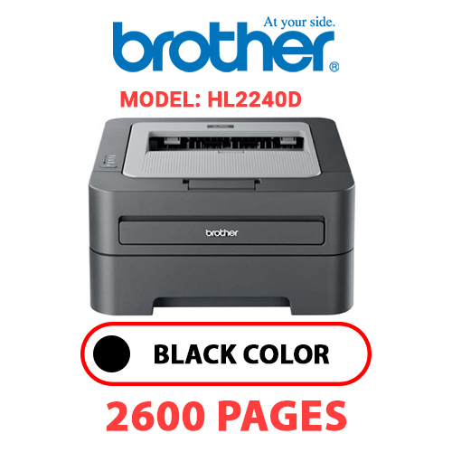 HL2240D 1 - BROTHER HL2240D - BLACK TONER