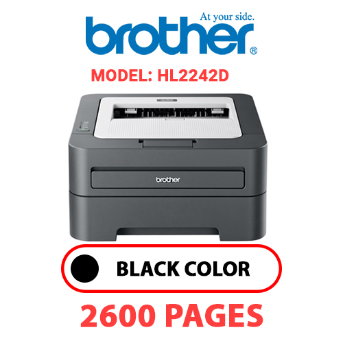 HL2242D 1 - BROTHER HL2242D - BLACK TONER