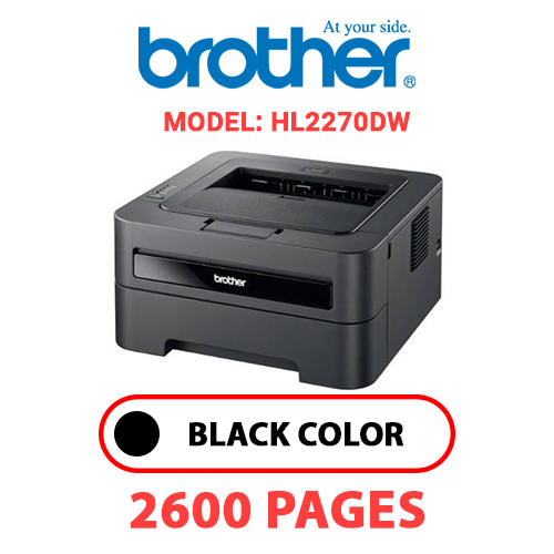 HL2270DW 1 - BROTHER HL2270DW - BLACK TONER