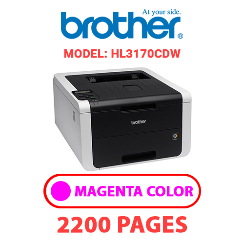 HL3170CDW 3 - BROTHER HL3170CDW - MAGENTA TONER