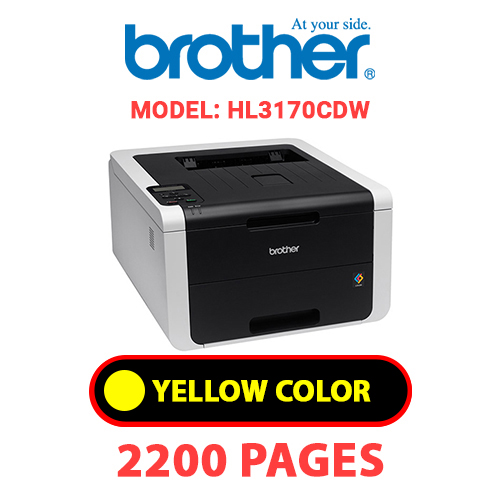 HL3170CDW 4 - BROTHER HL3170CDW - YELLOW TONER