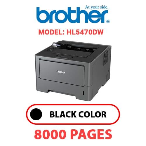 HL5470DW 1 - BROTHER HL5470DW - BLACK TONER