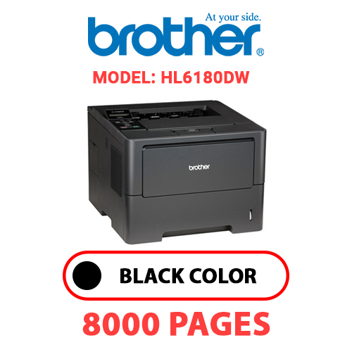 HL6180DW 1 - BROTHER HL6180DW - BLACK TONER