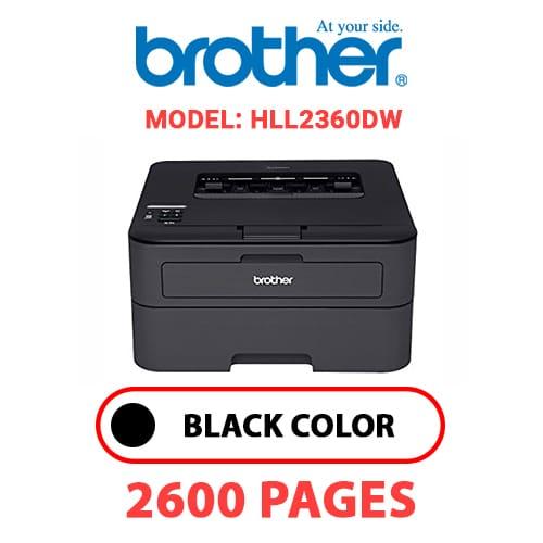 HLL2360DW 1 - BROTHER HLL2360DW - BLACK TONER