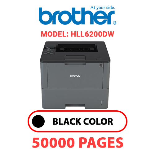 HLL6200DW 1 - BROTHER HLL6200DW - BLACK DRUM