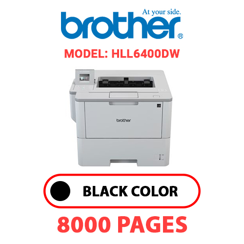 HLL6400DW - BROTHER HLL6400DW - BLACK TONER