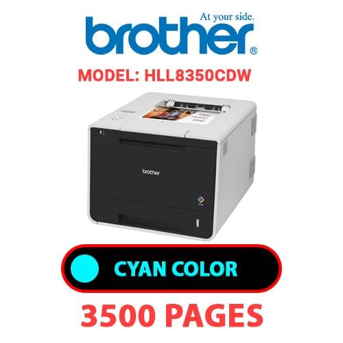 HLL8350CDW 1 - BROTHER HLL8350CDW - CYAN TONER