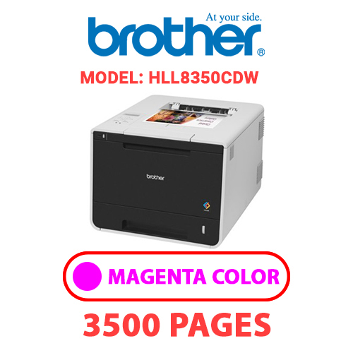 HLL8350CDW 2 - BROTHER HLL8350CDW - MAGENTA TONER