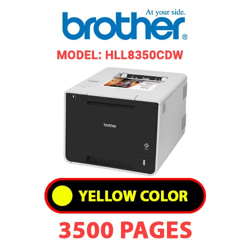 HLL8350CDW 3 - BROTHER HLL8350CDW - YELLOW TONER