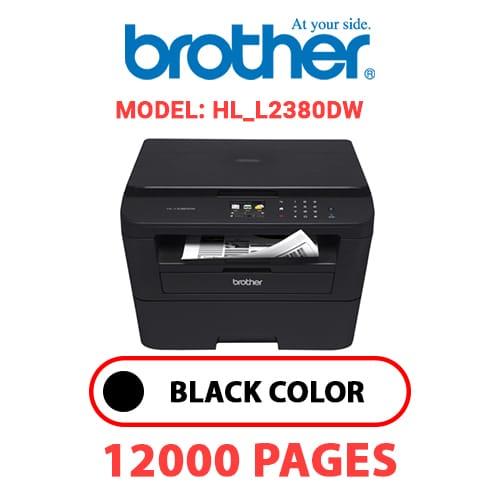 HL L2380DW - BROTHER HL_L2380DW - BLACK DRUM UNIT