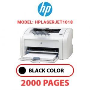 HPLaserJet1018 - HP Printer