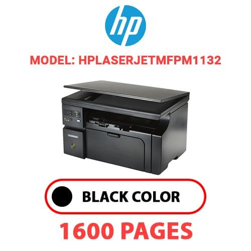 HPLaserJetMFPM1132 - HP Laser Jet MFPM1132 - BLACK TONER