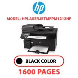 HPLaserJetMFPM1212nf - HP Printer