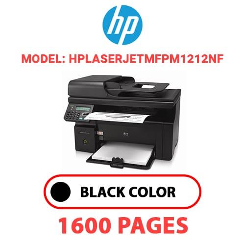 HPLaserJetMFPM1212nf - HP Laser Jet MFPM1212nf - BLACK TONER
