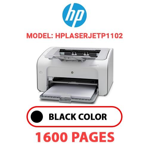HPLaserJetP1102 - HP Laser Jet P1102 - BLACK TONER