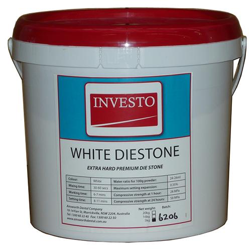 Investo White Diestone 5kg - DieStone White – Ainsworth