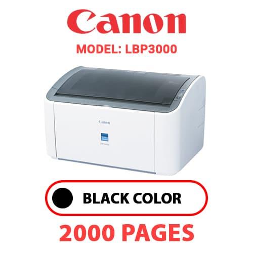 LBP3000 - CANON LBP3000 - BLACK TONER