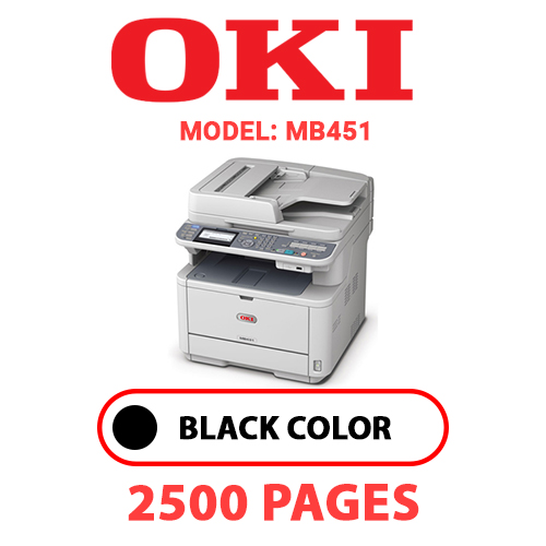 MB451 - OKI MB451 - BLACK TONER