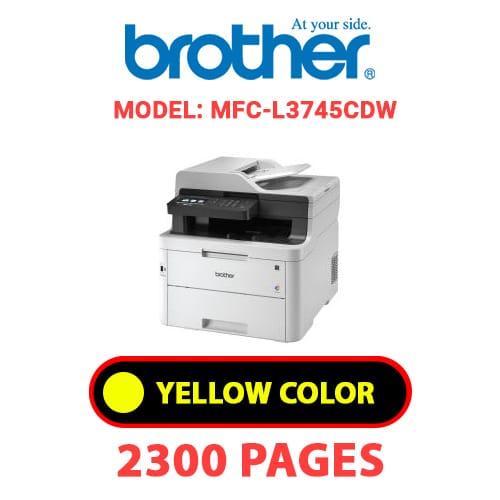 MFC L3745CDW 3 - BROTHER MFC-L3745CDW - YELLOW TONER