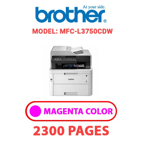 MFC L3750CDW 2 - BROTHER MFC-L3750CDW - MAGENTA TONER