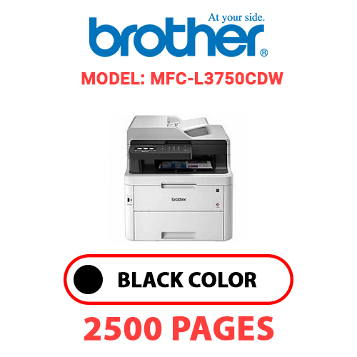 MFC L3750CDW - BROTHER MFC-L3750CDW - BLACK TONER