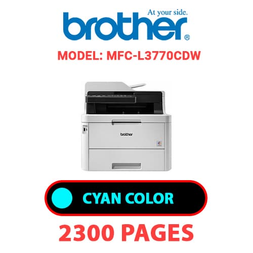 MFC L3770CDW 1 - BROTHER MFC-L3770CDW - CYAN TONER