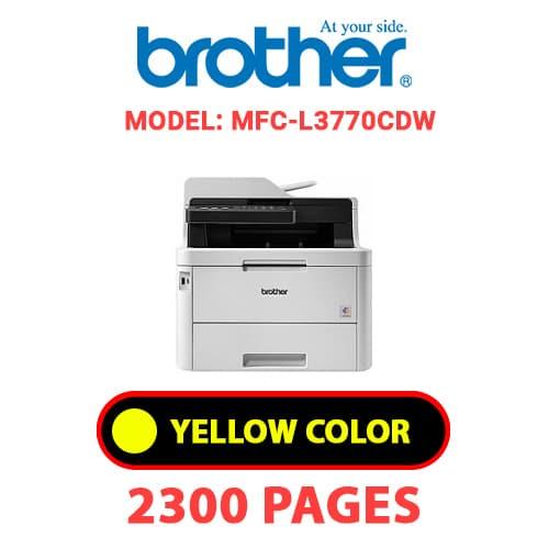 MFC L3770CDW 3 - BROTHER MFC-L3770CDW - YELLOW TONER