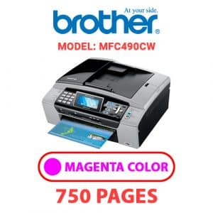 MFC490CW 1 - Brother Printer