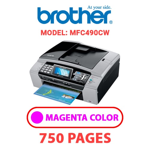 MFC490CW 1 - BROTHER MFC490CW - MAGENTA INK