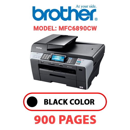 MFC6890CW - BROTHER MFC6890CW - BLACK INK