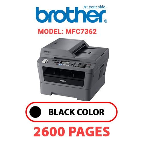 MFC7362 1 - BROTHER MFC7362 - BLACK TONER
