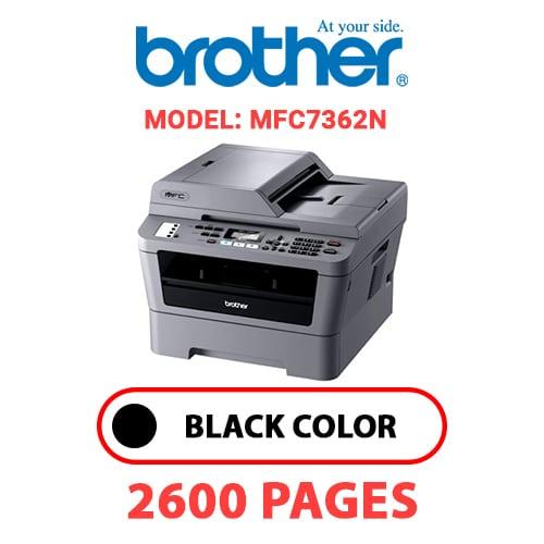 MFC7362N 1 - BROTHER MFC7362N - BLACK TONER