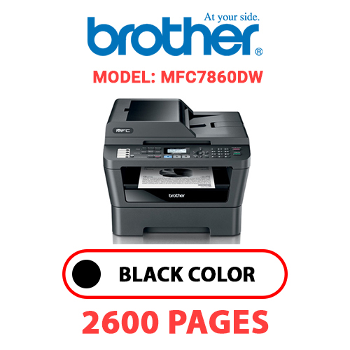 MFC7860DW 1 - BROTHER MFC7860DW - BLACK TONER