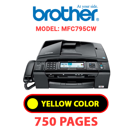 MFC795CW 2 - BROTHER MFC795CW - YELLOW INK