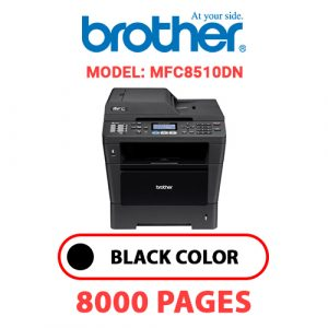 MFC8510DN 1 - Brother Printer