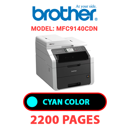 MFC9140CDN 1 - BROTHER MFC9140CDN - CYAN TONER