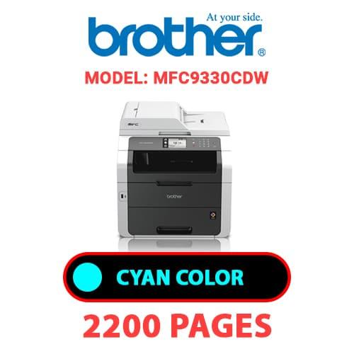 MFC9330CDW 1 - BROTHER MFC9330CDW - CYAN TONER
