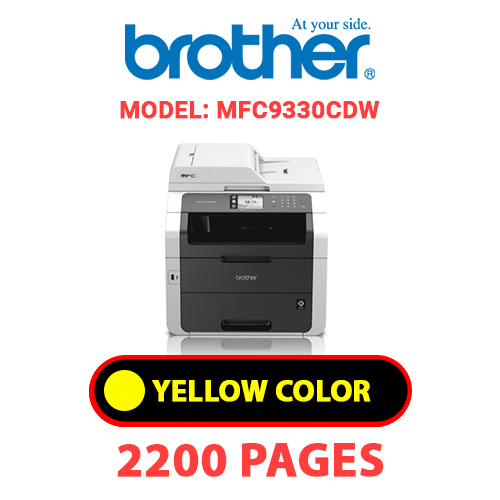 MFC9330CDW 3 - BROTHER MFC9330CDW - YELLOW TONER