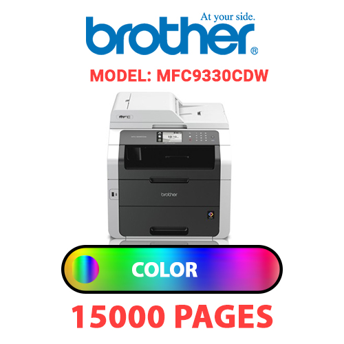 MFC9330CDW 4 - BROTHER MFC9330CDW - COLOR TONER
